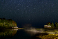 Salt Pond by Starlight