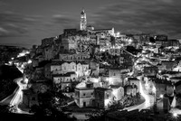 Nightfall in Matera
